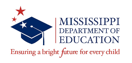Miss. Dept. of Education Logo