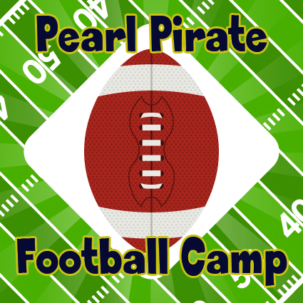 Pearl Pirate Football Camp Icon